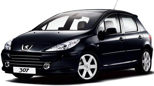 Avis sur la Peugeot 307
