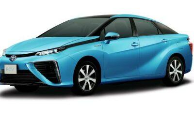 Toyota FCV à pile combustible hydrogène