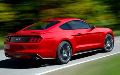 Ford Mustang 2015 4 cylindres 2.3 turbo EcoBoost
