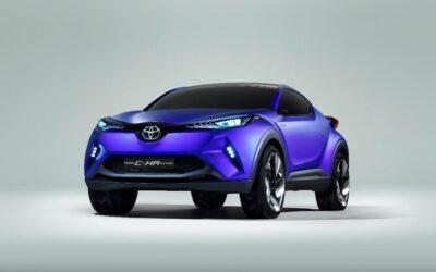 Concept C-HR : Toyota imagine un nouveau SUV urbain