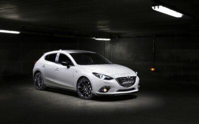 La Mazda 3 aux couleurs du Trophée Andros