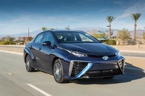 Mirai, future berline à pile à combustible de Toyota