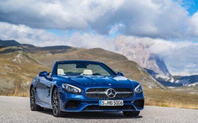 Un nouveau cabriolet SL pour Mercedes
