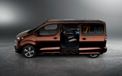 Le Peugeot Traveller i-Lab, l'avenir du transport VIP