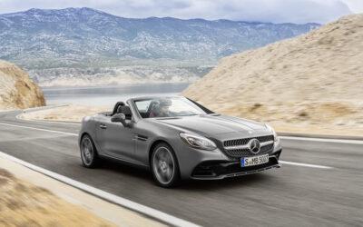 Le roadster SLK devient le roadster Mercedes SLC