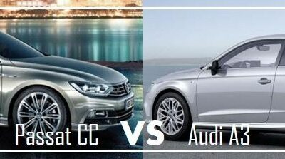 Volkswagen Passat CC VS Audi A3