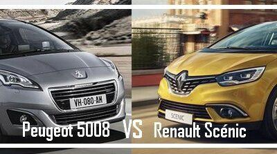 Peugeot 5008 VS Renault Grand Scénic IV
