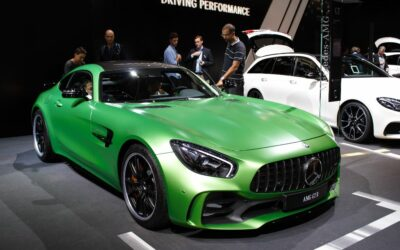 Live Mondial : le bolide Mercedes AMG GT R