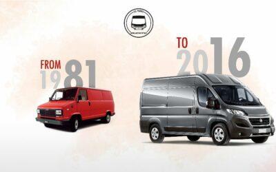 Trente-cinq ans de succès et de records pour le Fiat Ducato