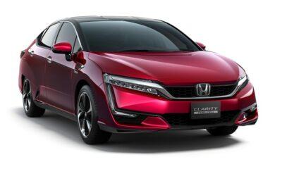 Honda Clarity Fuel Cell : 589 km d'autonomie homologués