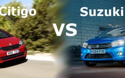 Skoda Citigo VS Suzuki Celerio