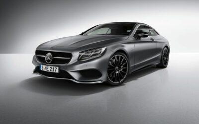 Mercedes présente une luxueuse version de sa Classe S Coupé
