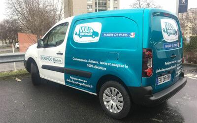 VULe Partagés, des utilitaires électriques en libre-service pour les professionnels