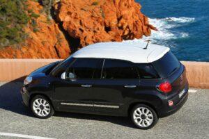 Fiat 500L vue latérale