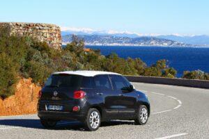 Fiat 500L vue arrière