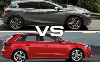 Essai comparatif : INFINITI Q30 VS Audi A3