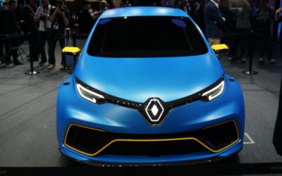 La Renault ZOE est survoltée dans sa version e-Sport Concept