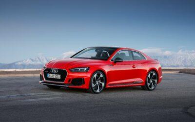 Une nouvelle Audi RS 5 Coupé encore plus efficiente