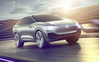 Le concept-car I.D. Crozz de Volkswagen, un CUV électrique