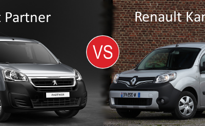 Essai comparatif : Peugeot Partner VS Renault Kangoo Express