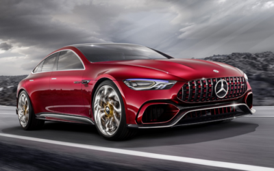Concept Mercedes AMG GT : impressionnant !