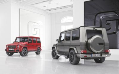 Deux séries spéciales plus luxueuses pour le légendaire Mercedes Classe G