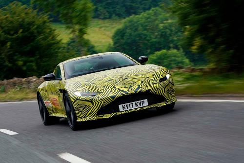Nouvelle Aston Martin Vantage avant