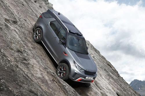 Les incontournables du Salon de Francfort 2017 (ep1) : Land Rover Discovery SVX