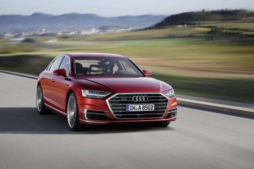 Audi A8 participation au trophée de la voiture de l'année 2018