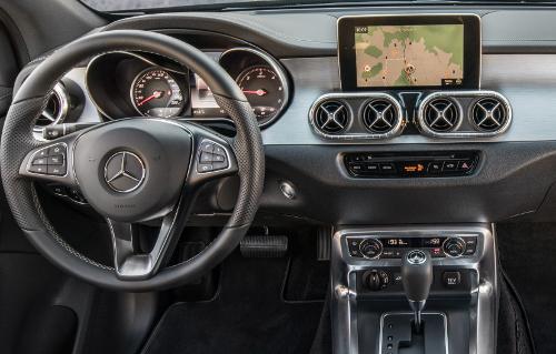 Essai Mercedes Classe X : équipement