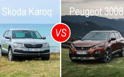 Essai comparatif : Skoda Karoq VS Peugeot 3008