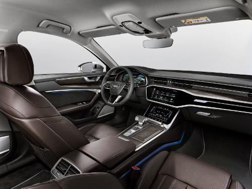 Nouvelle Audi A6 habitacle design