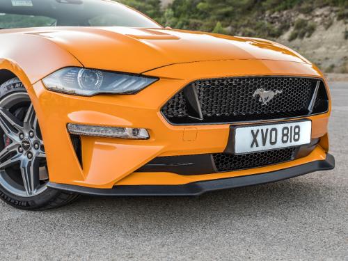 Nouvelle Ford Mustang 2018 zoom sur l'avant