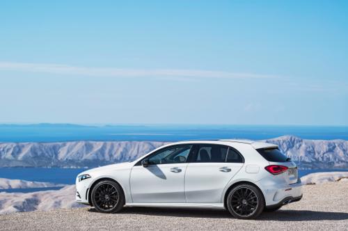 La Mercedes Classe A au centre des attentions