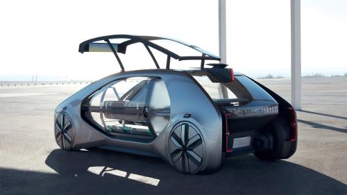 Le concept véhicule-robot EZ-GO de Renault