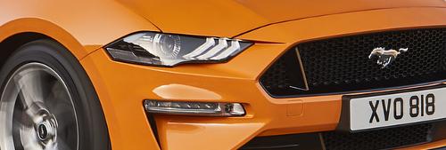 Phares de la Ford Mustang