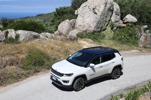 Jeep Compass Limited : conduite sur parcours mixte