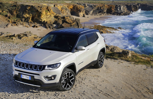 Jeep Compass limited : design