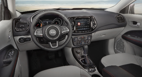 Jeep Compass Limited : habitacle