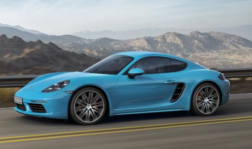Essai Porsche 718 Cayman : design