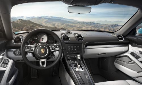 Essai Porsche 718 Cayman : intérieur