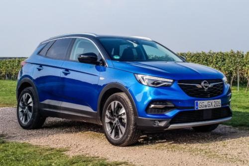 Essai Opel Grandland X : design