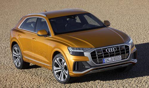 Le design du Audi Q8