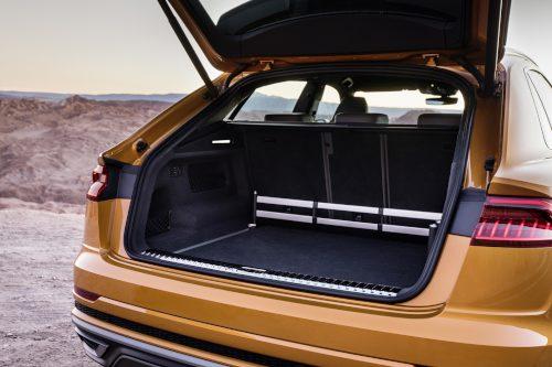 Le confort de l'Audi Q8