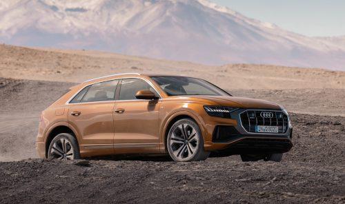 La conduite de l'Audi Q8