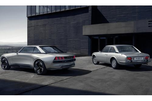 Le design de la Peugeot E-Legend