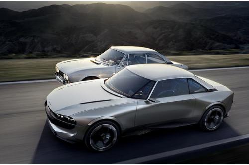 L'allure renouvelée de la Peugeot E-Legend