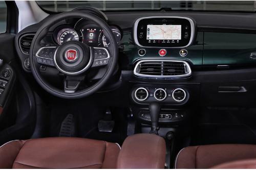 L'intérieur très esthétique de la Fiat 500X