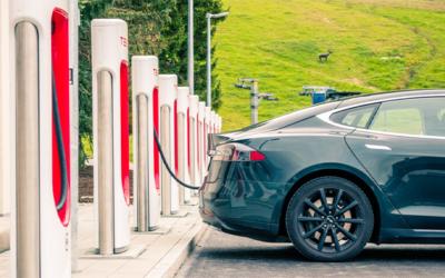 La forte croissance des voitures électriques