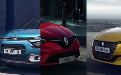 Classement des voitures les plus vendues en France en 2020